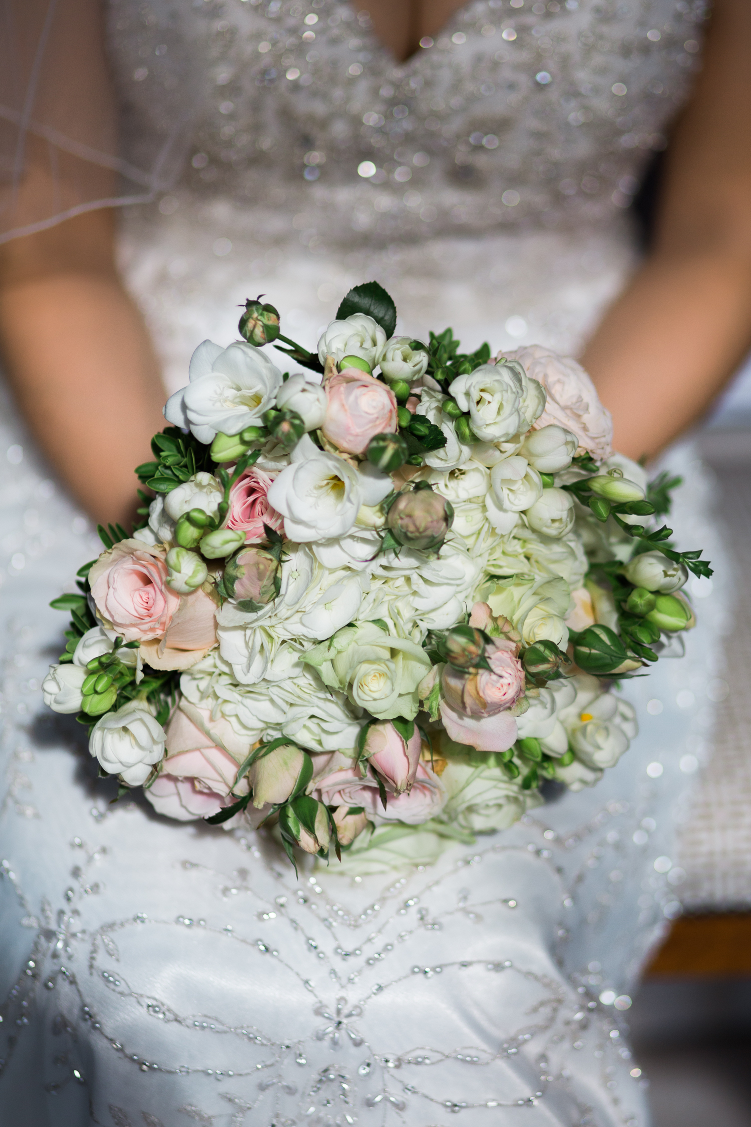 Wedding bouquet by Selina Godsal at Iscoyd Park Wedding photo