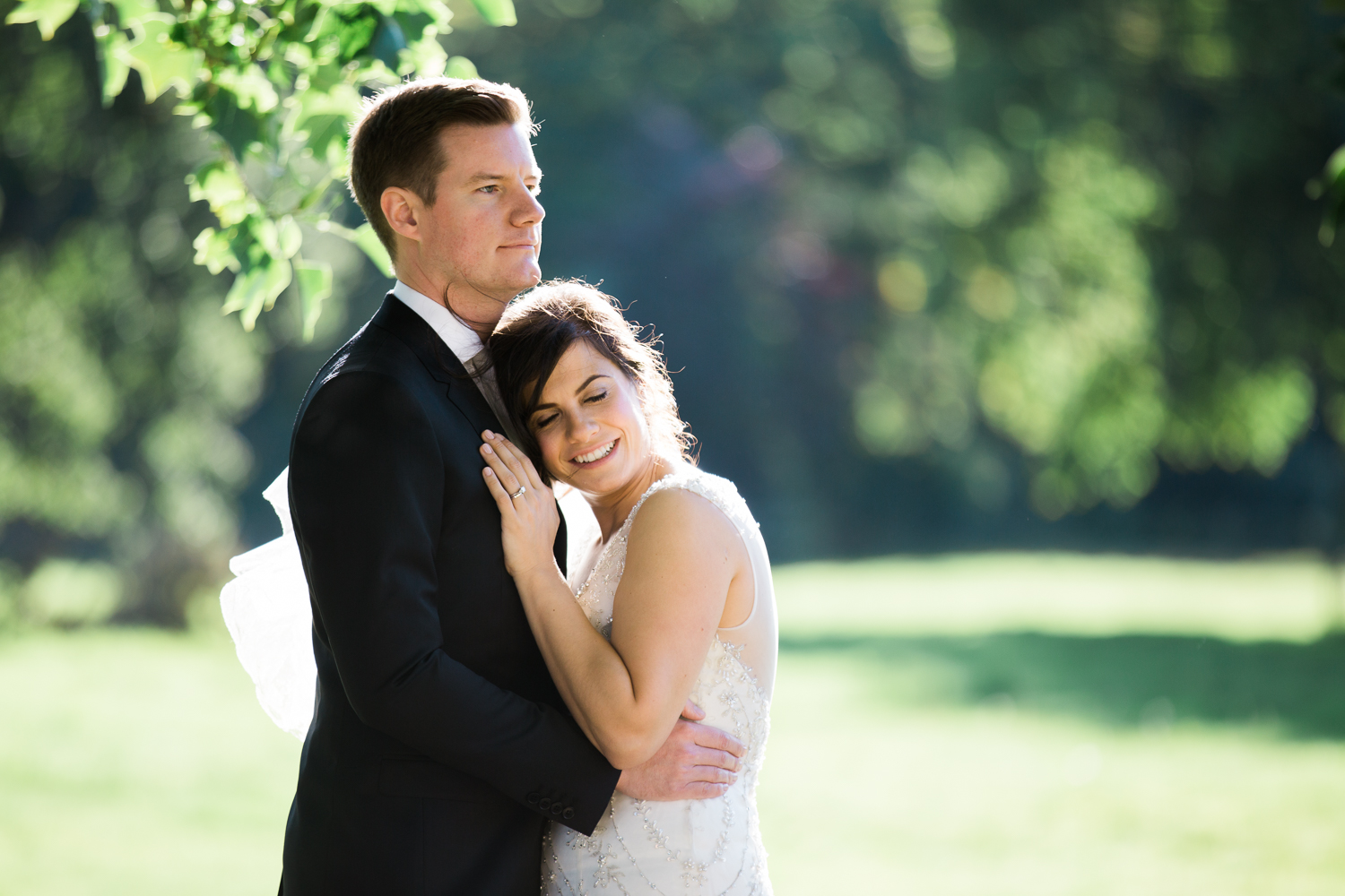 UK Fine Art Wedding Photographer at Iscoyd Park photo