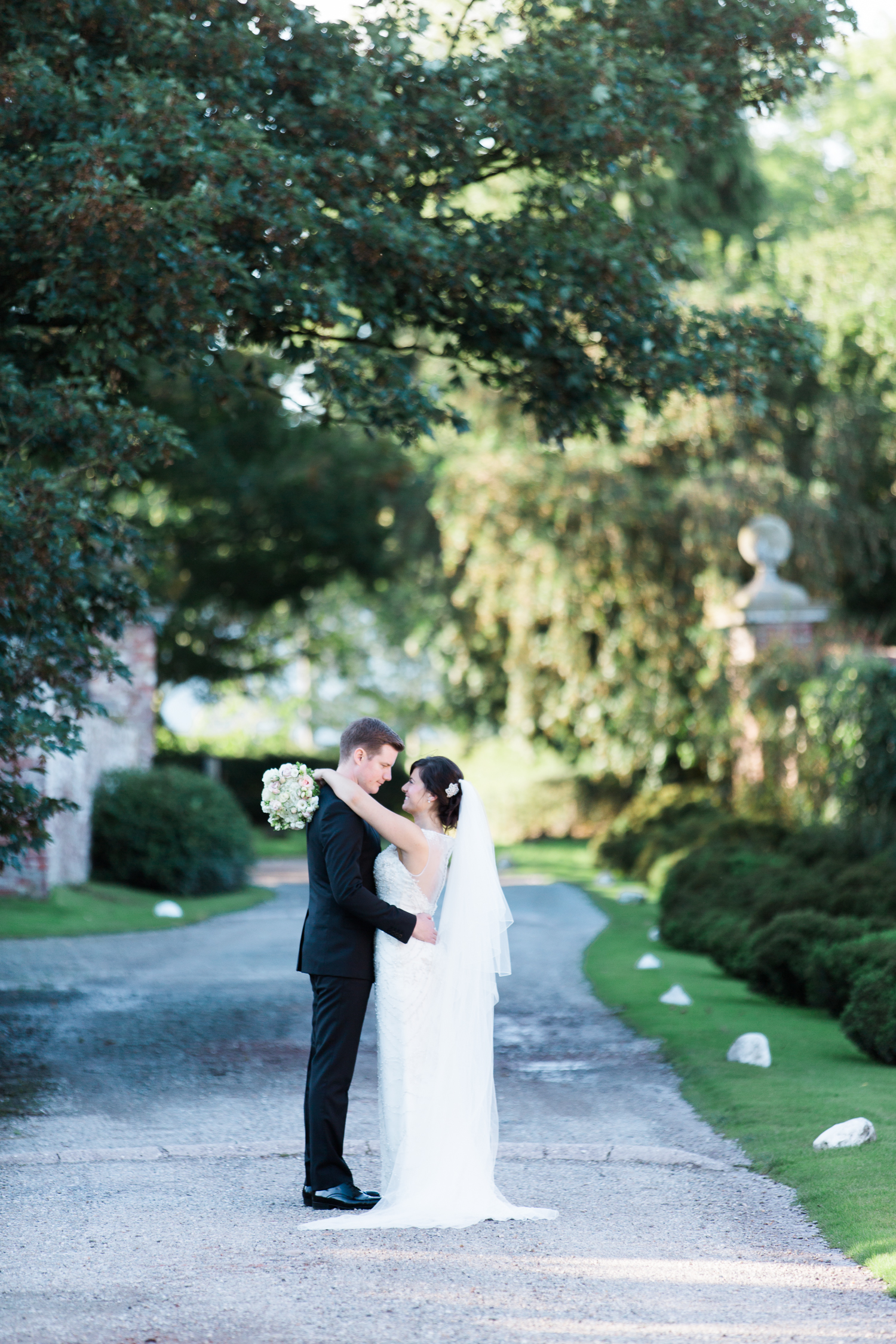 Fine art wedding photographer at Iscoyd Park in the UK photo