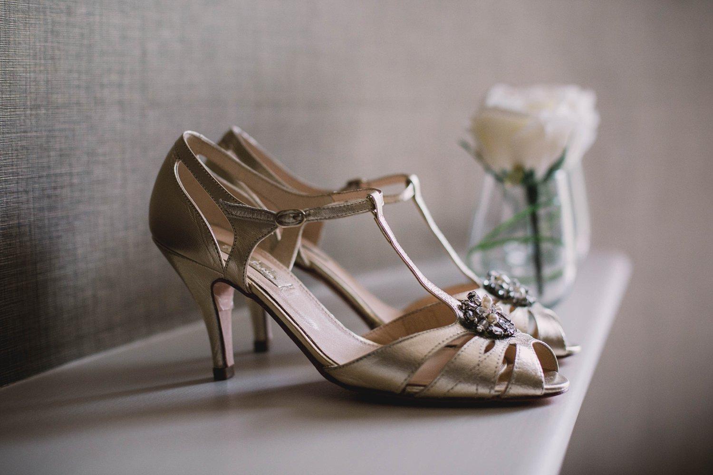 Rachel Simpson Shoes for a luxury wedding at Carlowrie Castle, Edinburgh